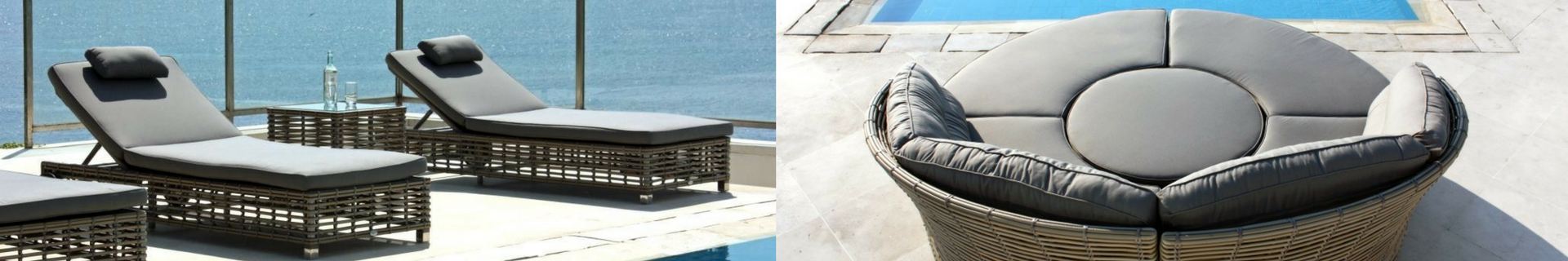 Outdoor Day Beds & Sun Loungers