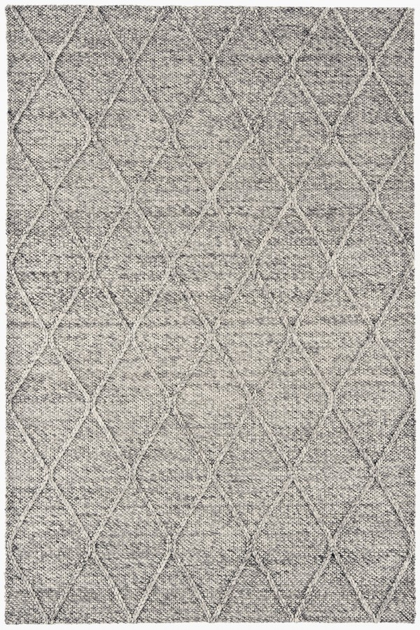 Grey Diamond Westbourne Wool Rug