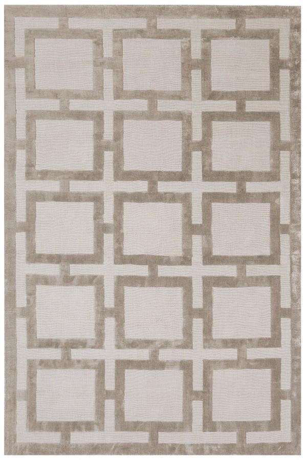 Sand Knightsbridge Geometric Rug
