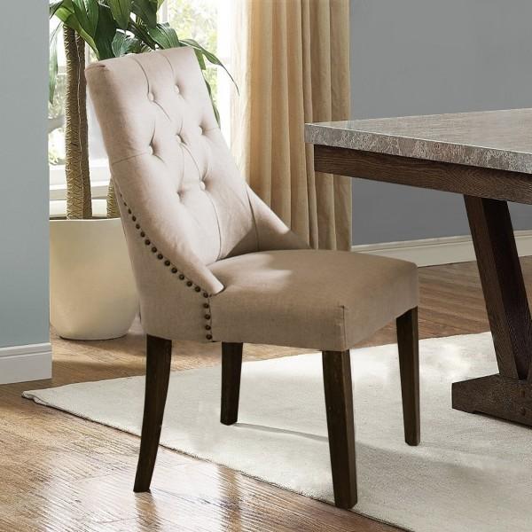 Ella Padded Natural Dining Chair