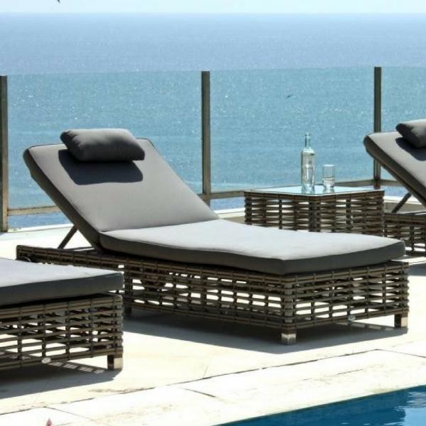 Havana Bespoke Outdoor Sun Lounger - Luxury Outdoor Furniture