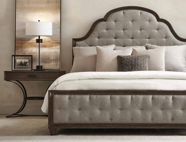 Hemingway Upholstered Tufted Bed