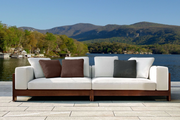 Naxos Luxury Four Seater Outdoor Sofa