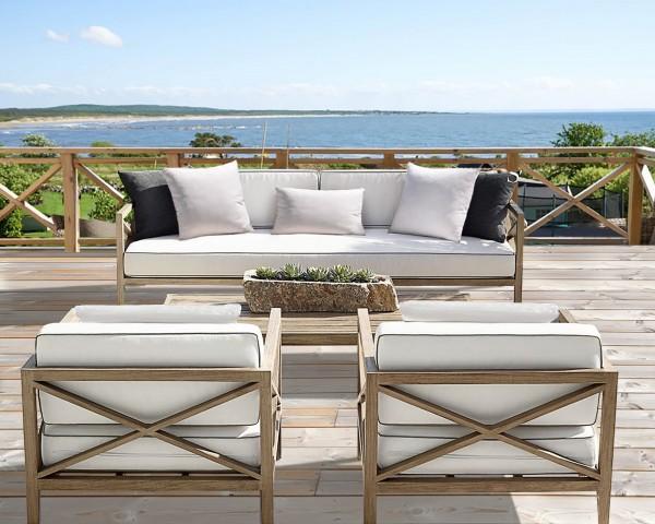 Maui Luxury Outdoor Three Seater Sofa