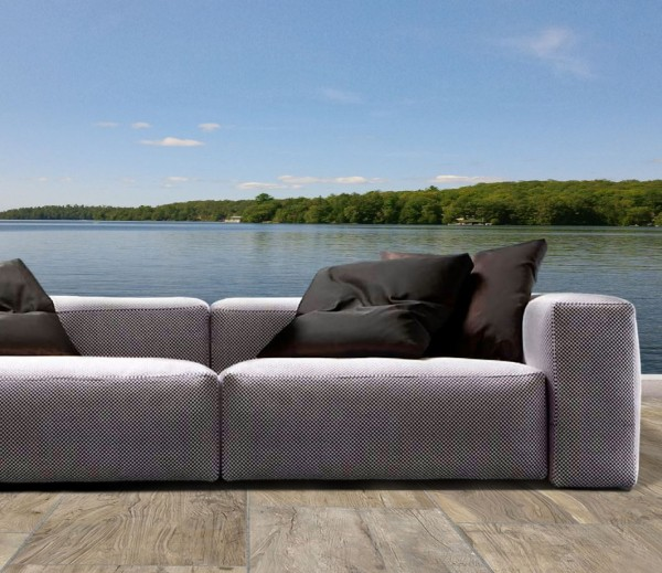 Mustique Bespoke Four Seater Sofa