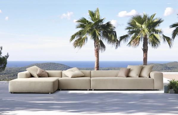 Mustique Bespoke XL Chaise Sofa