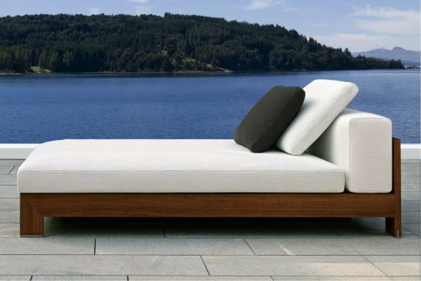 Naxos Luxury Outdoor Sun Lounger