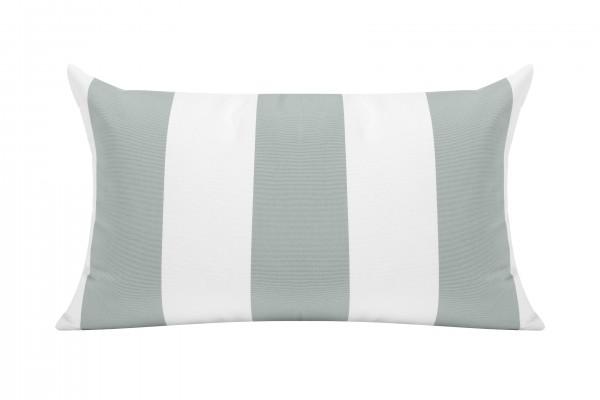 Spa/White Cabana Outdoor Cushion - 50x30cm