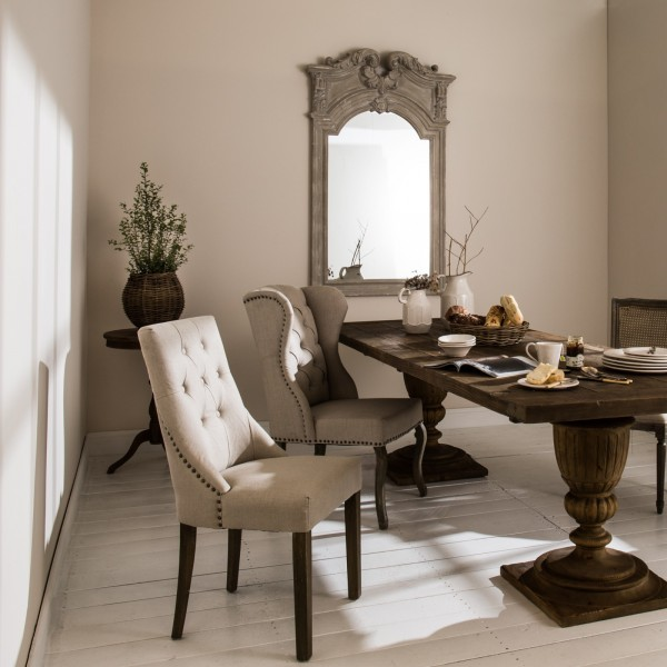 St James Padded Natural Dining Chair