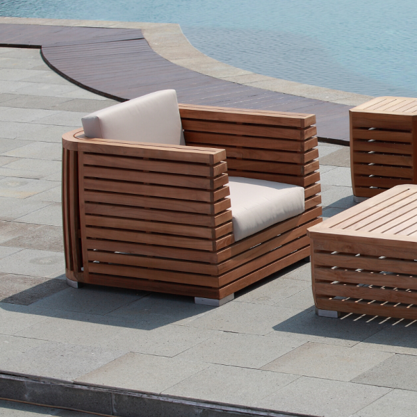 Pisco Luxury Outdoor Club Chair