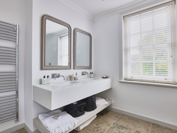 Wilton Grammercy Beaded Grey Mirror