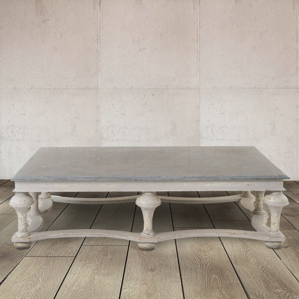 Windsor Colonial Grey Balustrade Coffee Table