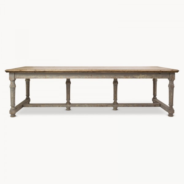 Woodcroft Colonial Grey Oak Dining Table