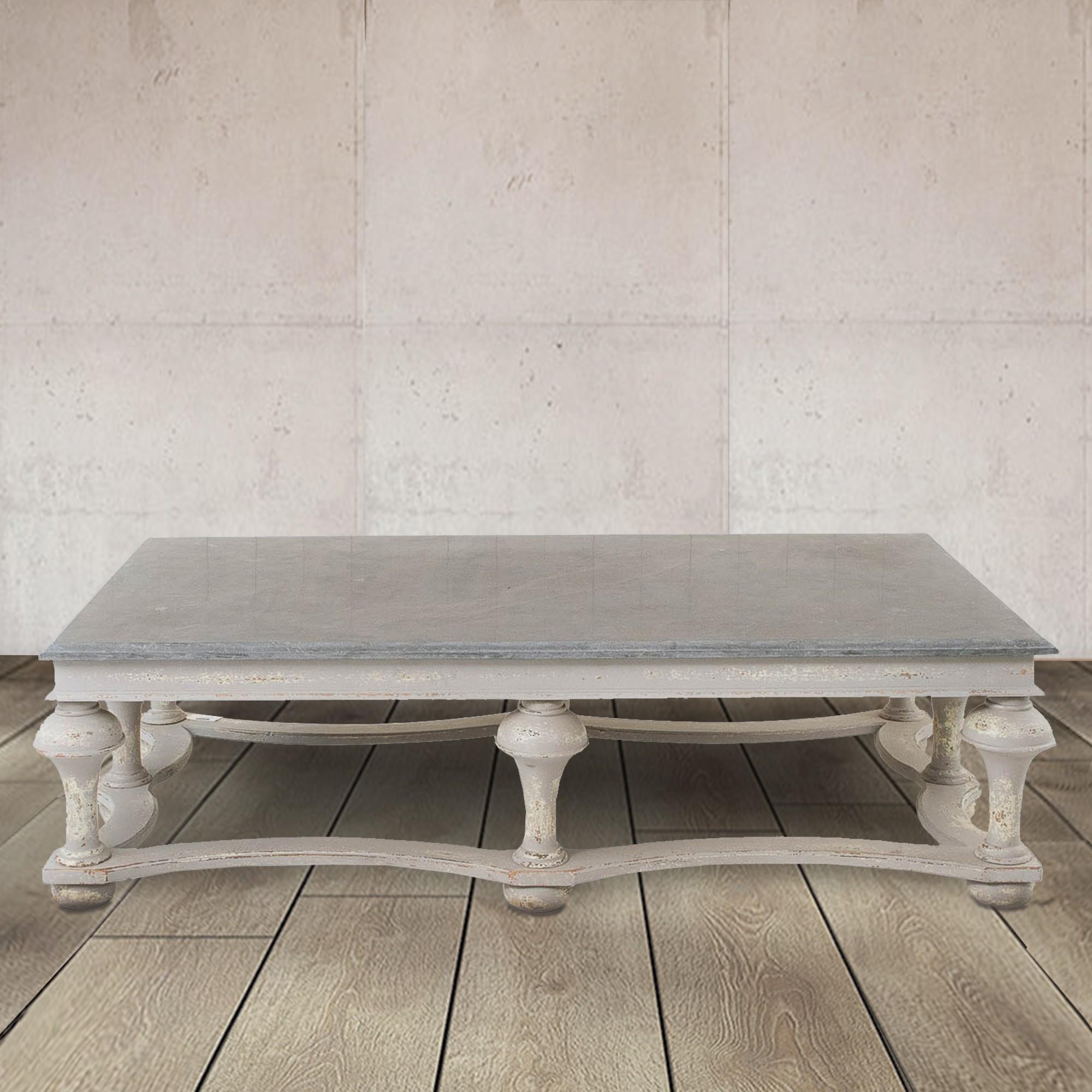 Windsor Colonial Grey Balustrade Coffee Table Country Living Range Hadley Rose