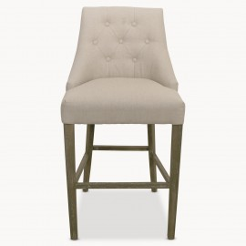 St James Natural Padded Bar Stool
