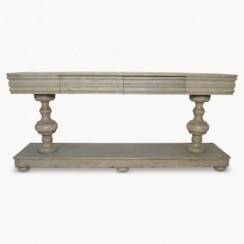 Windsor Colonial Grey Console Table