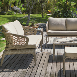 Amathus Bespoke Outdoor Love Seat