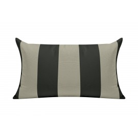 Anthracite Cabana Outdoor Cushion & Pad - 50x30cm