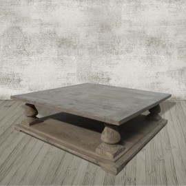 Aspen Salvaged Grey Coffee Table