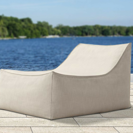 Azure Bespoke Outdoor Lounge Chair