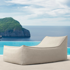 Azure Bespoke Outdoor Sun Lounger