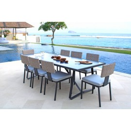 Barroco Outdoor Aluminium Dining Table
