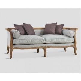 Blaise Farmhouse Tweed Sofa