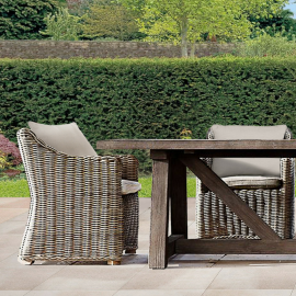 Canterbury Six Seater Luxury Outdoor Dining Collection