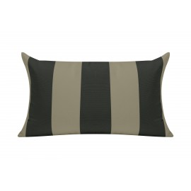 Charcoal Cabana Outdoor Cushion & Pad - 50x30cm