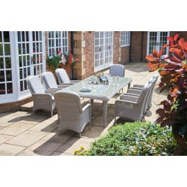 Estel Rectangular Outdoor Dining Set - 8 Seater