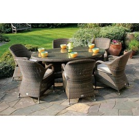 Gladstone Oval Outdoor Dining Set