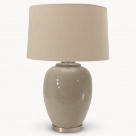 Milton Glazed Ceramic Table Lamp