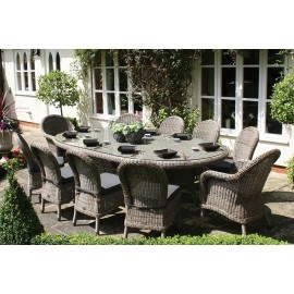 Grimaud Oval Outdoor Dining Set