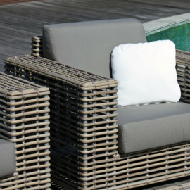 Havana Bespoke Outdoor Arm Chair - Luxury Outdoor Furniture