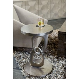 Knightsbridge Metal Round Side Table