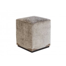 Camilia Upholstered Studded Footstool