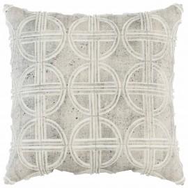 Luxe Fretwork Cushion