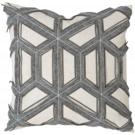Luxe Geometric Cushion