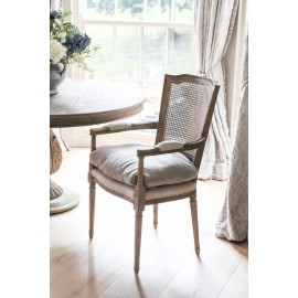 Lola Oak Dining Chair with Arms