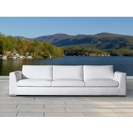 Mauritius Bespoke Outdoor Three Seater Sofa