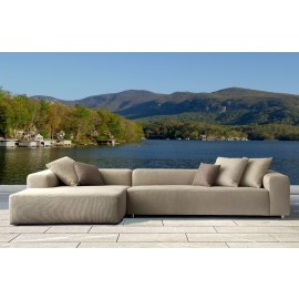 Mustique Bespoke Large Chaise Sofa