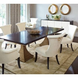 Pimlico Double Pedestal Dining Table