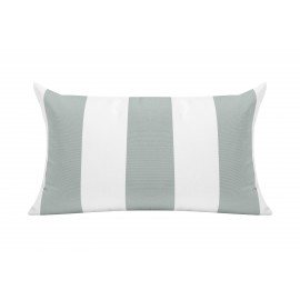 Spa/White Cabana Outdoor Cushion - 50x30cm