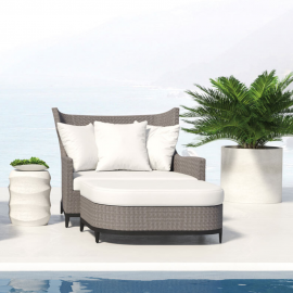Bali Outdoor Love Seat