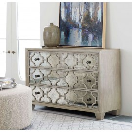 Waldorf Antiqued Mirrored Drawer Chest