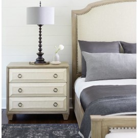 Waldorf Three Drawer Nightstand