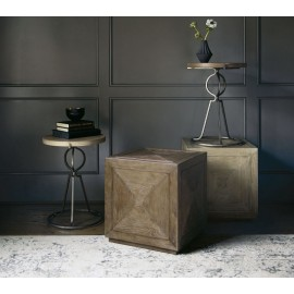 Westbourne Peppercorn Round End Table