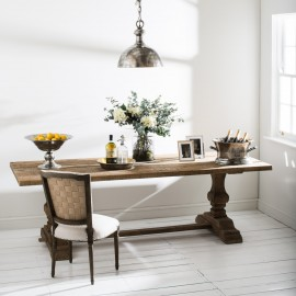 Windsor Bleached Pine Rectangular Dining Table