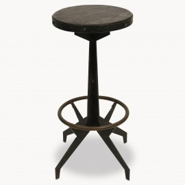Woodcroft Metal Stool