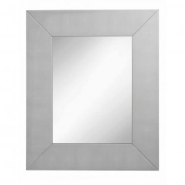 Faux Shaegreen Grey Mirror